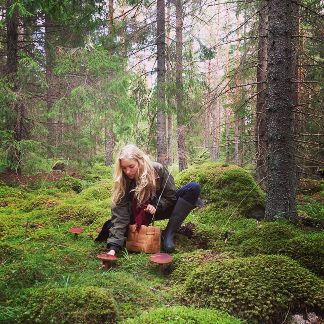 Елза Хоск има ново хоби, таасобира печурки