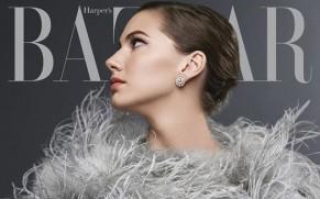 Внуката на Одри Хепберн ја краси насловната на Harper's Bazaar