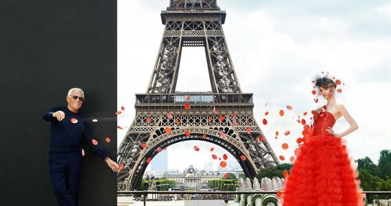 """Falling in Love with Couture"" – уникатен париски едиторијал на Harper's Bazaar"