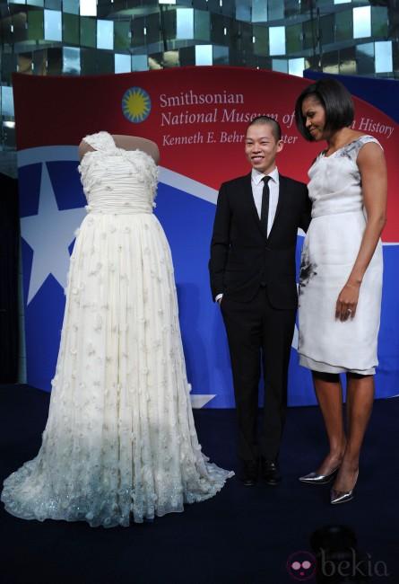 Мишел Обама и Џејсон Ву