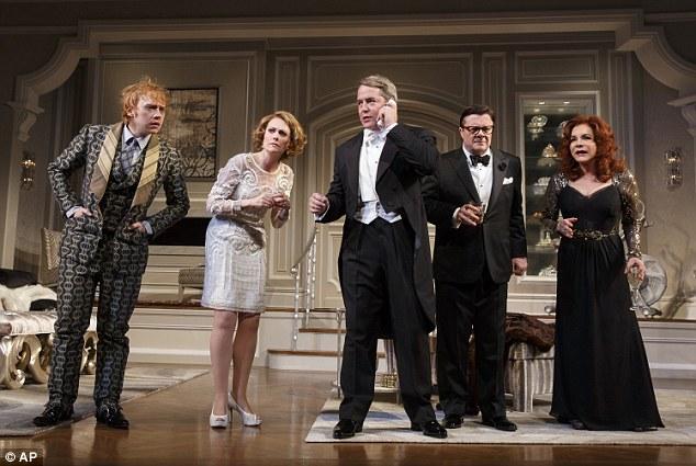 Сцена од претставата