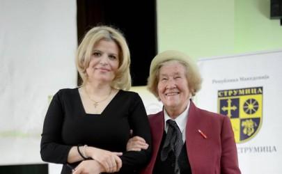 Елена Лука доби престижно признание за Амбасадор против гладта