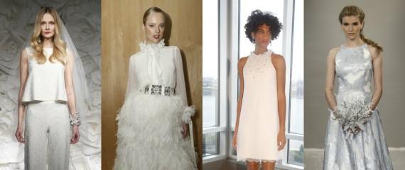 Збогум на традиционалните венчални фустани