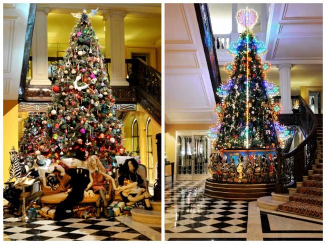 Минатогодишното новогодишно дрво на Ланван и Долче и Габана