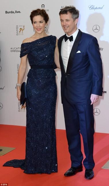 Принцезата Мери и Принцот Фредерик од Данска