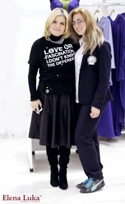 Елена Пандева и Анастасија