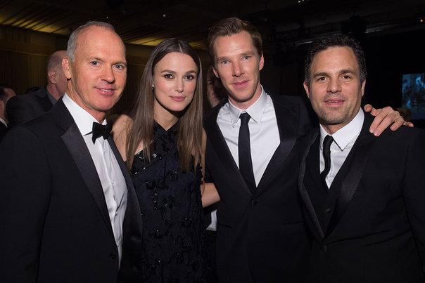 Michael Keaton, Keira Knightley, Benedict Cumberbatch, Mark Ruffalo