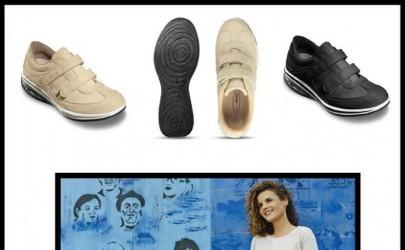 Лесен чекор со женските обувки на Walkmaxx