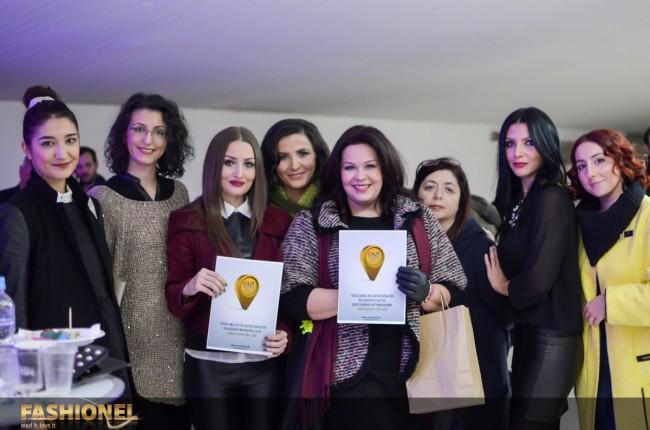 Дел од тимот на модниот портал Fashionel