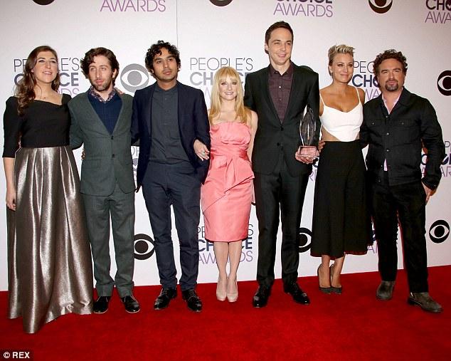 Дел од актерската екипа на The Big Bang Theory