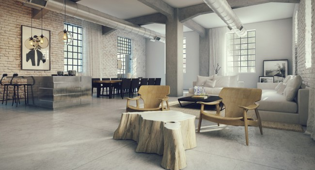 3-Open-plan-loft-design