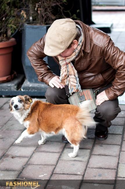 Зоки со неговиот омилен пријател, кучето Ноне