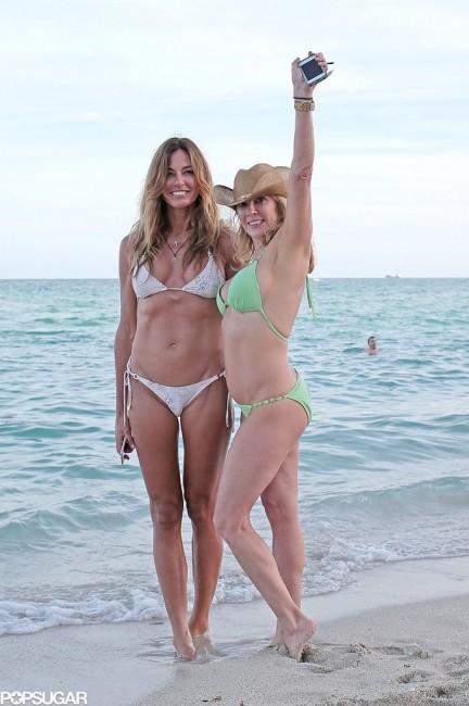 Рамона Сингер и Кели Бенсимон во Мајами