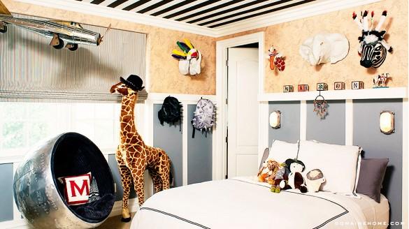 Детската соба на синот на Кортни Кардашијан, Мејсон