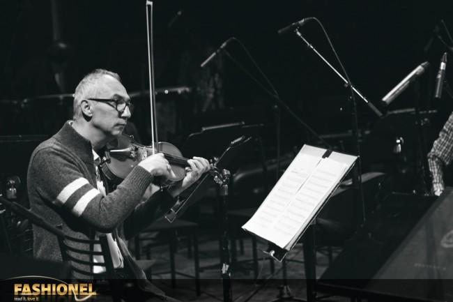 Дел од оркестарот на Македонската филхармонија