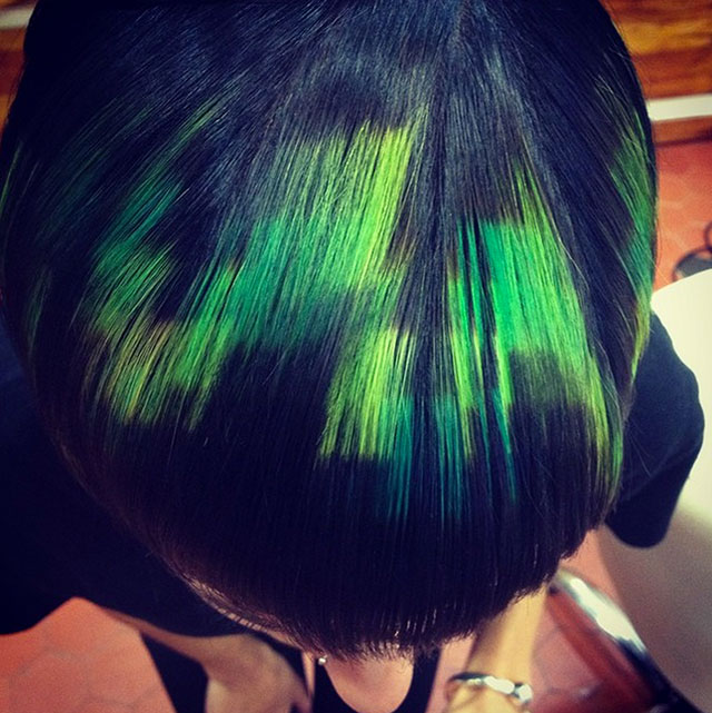 pixels-hair