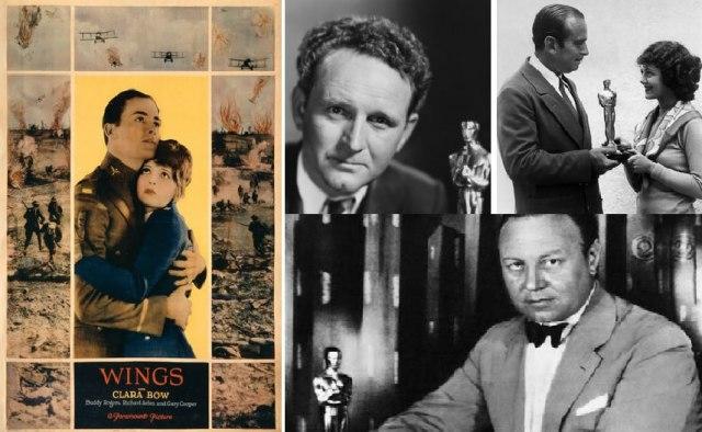Првите добитници на Оскарите (десно)