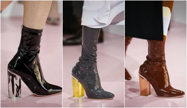 Чевли со дебели потпетици од Диор