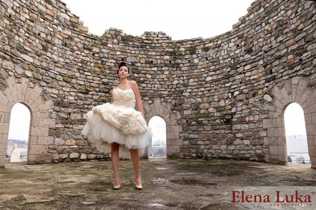 Венчаница од модната куќа Елена Лука