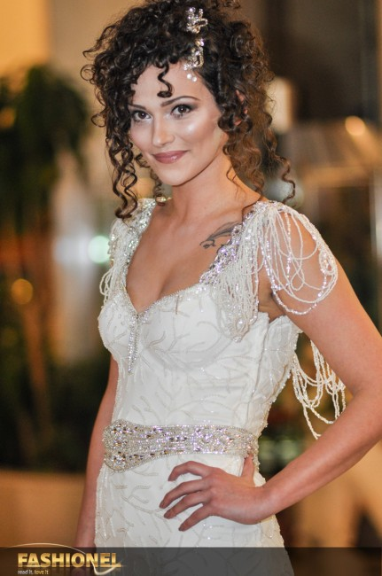 Ведрана Ѓорѓевиќ прошета во венчаница на ателје Лебед