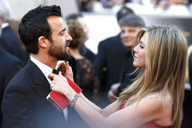 Jennifer Aniston and Justin Theroux OSCARS