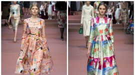 Стилски двобој: Кој фустан од Долче и Габана би сакале да го носите?