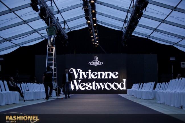Fashionel на ревијата на Вивиен Вествуд во Будва