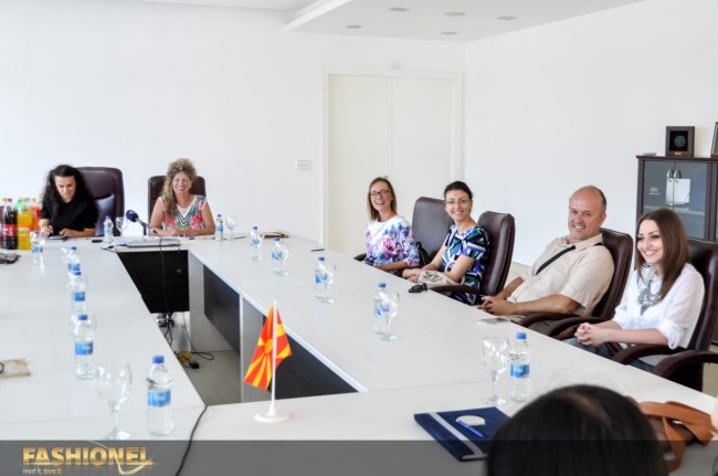 Fashionel во дискусија за образованието на младите македонски креативци, Европски Универзитет