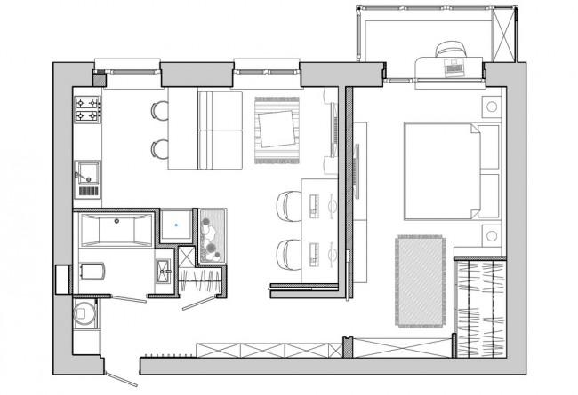 Savršeno uređeni stanovi do 50 kvadrata (4)