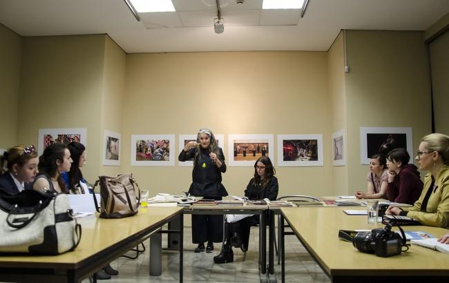 Презентации и дискусии во Музејот на Македонија. Фото: Даниела Коцевска