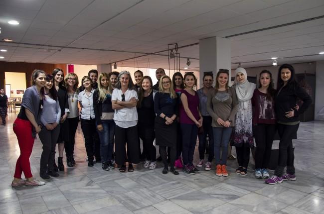 Учесниците во работилницата. Фото: Даниела Коцевска