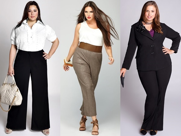 Plus-Size-Flare-Pants-for-Office-Wear