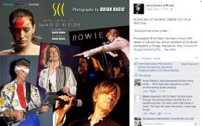 Ексклузивни фотографии од Дејвид Боуви на изложба во Скопје!