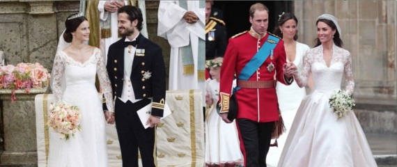 Венчаницата на новата шведска принцеза Софија веќе видена