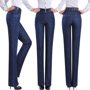 Free-shipping-fashion-middle-age-women-trousers-the-pants-big-size-clothing-high-waist-jeans-straight.jpg_350x350
